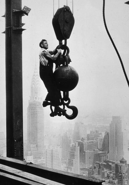 Construction Industry「Empire State Building Construction」:写真・画像(5)[壁紙.com]
