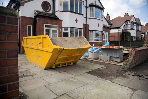 Industrial Garbage Bin「Construction Site/Home Extension-See lightbox below for similar」:スマホ壁紙(10)