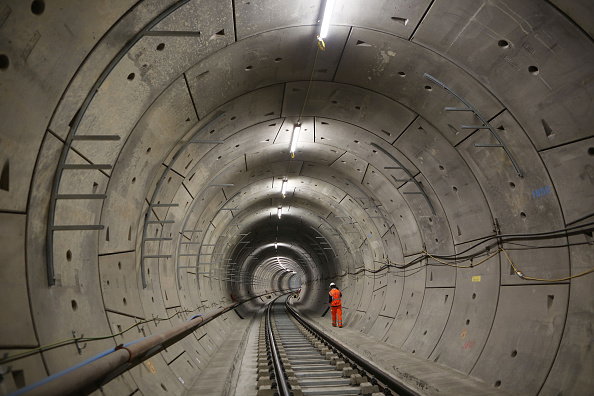 Transportation「Views Underground At Crossrail As Project Reaches 80% Completion」:写真・画像(3)[壁紙.com]