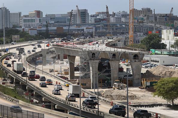 Construction Industry「Miami Building Massive 800 Million Dollar Signature Bridge」:写真・画像(0)[壁紙.com]