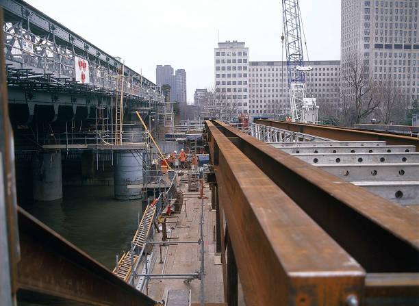 Construction of new Hungerford footbridge London, United Kingdom:ニュース(壁紙.com)