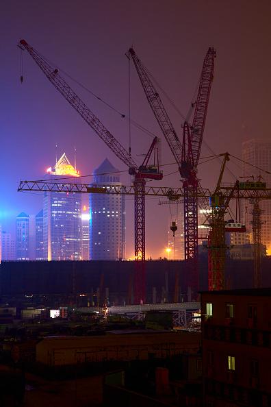 Dawn「Construction site at night, Beijing, China.」:写真・画像(15)[壁紙.com]