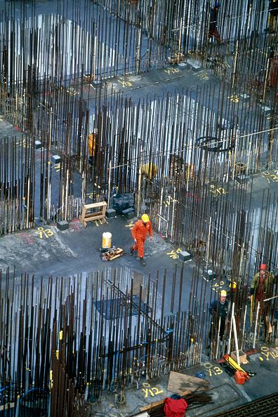 Concrete「Construction of sub-sea oil storage tank. Scotland, UK.」:写真・画像(8)[壁紙.com]