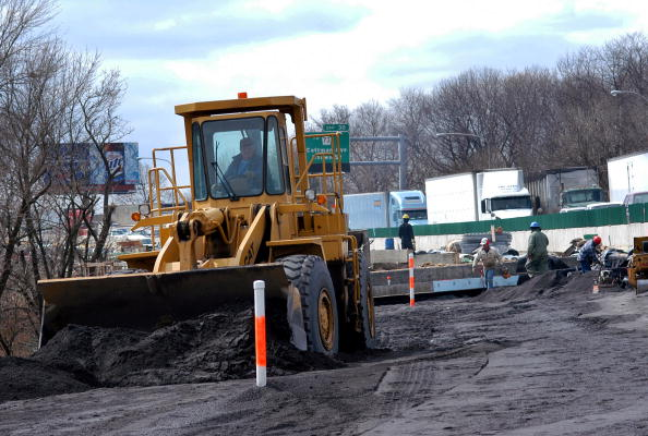 Earth Mover「Major Highway Re-construction Continues On Interstate 95 In Philadelphia」:写真・画像(3)[壁紙.com]