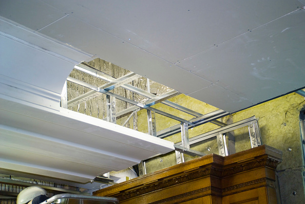 Ceiling「Construction of 14 Cornhill / 71 Lombard Street. Built in 1929 for Lloyds as their HQ, London, UK」:写真・画像(8)[壁紙.com]