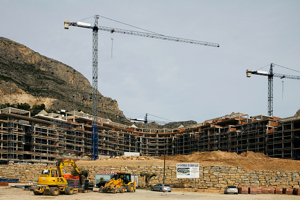 Construction Industry「Construction on the Coastline of Altea Harbour, Spain」:写真・画像(12)[壁紙.com]