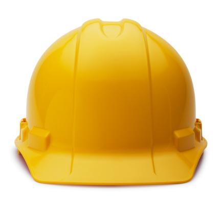 Protection「Construction Helmet on White」:スマホ壁紙(9)