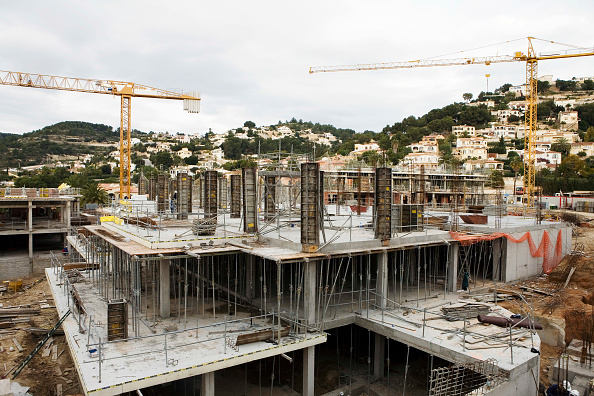 Construction Site「Construction at the coast of Benissa, Costa Blanca, Spain」:写真・画像(14)[壁紙.com]
