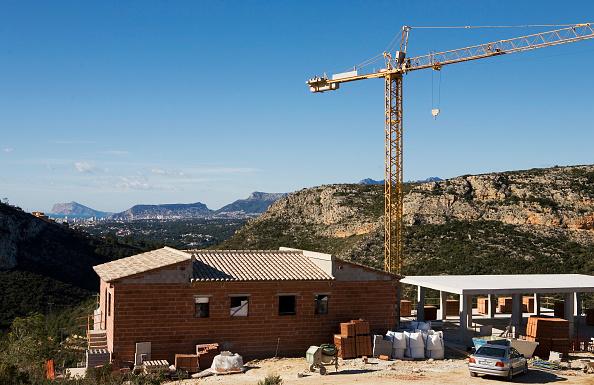 Concrete「Construction at the coast of Moraira, Cumbre del Sol, Spain」:写真・画像(14)[壁紙.com]