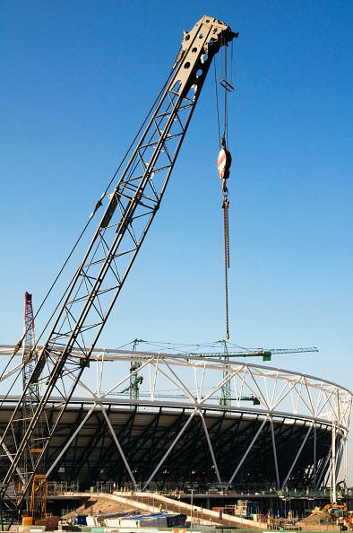 2012 Summer Olympics - London「UK. Construction of the 2012 Olympic Park in east London. September 2009」:写真・画像(2)[壁紙.com]