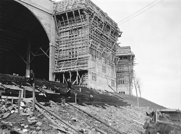 Arch - Architectural Feature「Wembley Stadium Under Construction」:写真・画像(12)[壁紙.com]