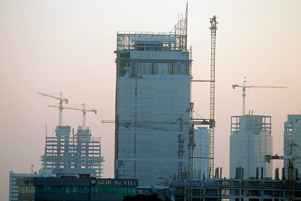 No People「Construction boom in Jakarta, the Indonesia's capital.」:写真・画像(18)[壁紙.com]