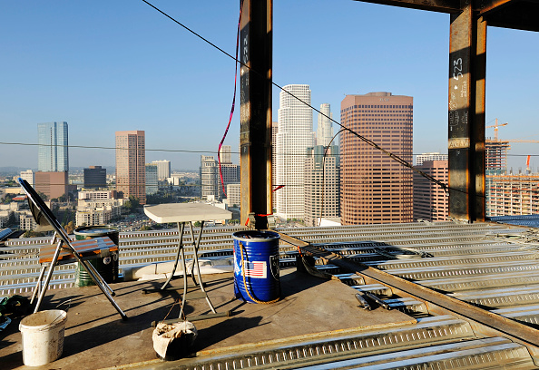 余白「Construction of LA Live in Downtown Los Angeles, California, USA」:写真・画像(16)[壁紙.com]