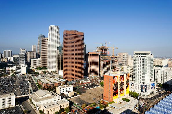 Copy Space「Construction of LA Live in Downtown Los Angeles, California, USA」:写真・画像(17)[壁紙.com]