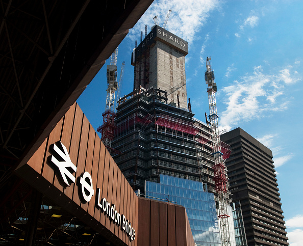 Incomplete「Construction of Renzo Piano designed 'The Shard' building, London Bridge, UK」:写真・画像(18)[壁紙.com]