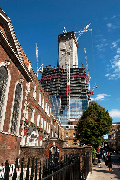 18-19 Years「Construction of Renzo Piano designed 'The Shard' building, London Bridge, UK」:写真・画像(11)[壁紙.com]