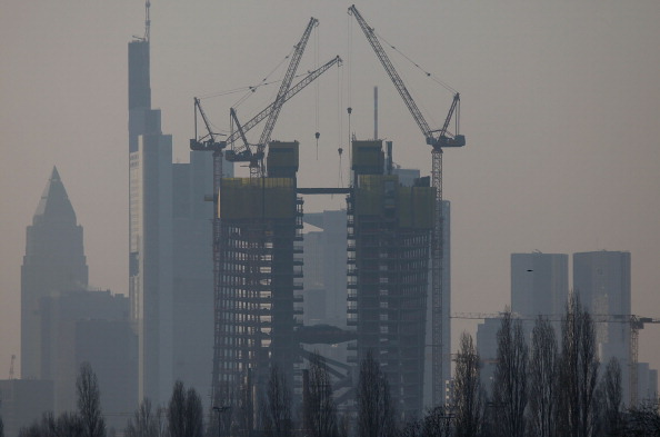 Perching「New European Central Bank HQ Construction Continues」:写真・画像(16)[壁紙.com]