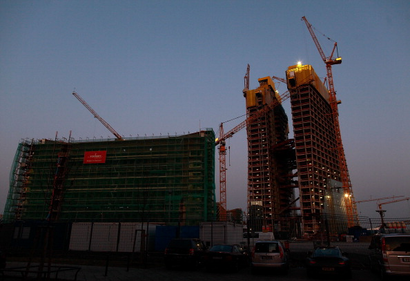 Perching「New European Central Bank HQ Construction Continues」:写真・画像(19)[壁紙.com]