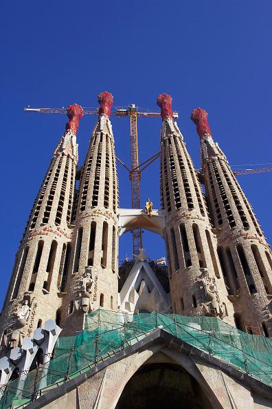 Sagrada Familia - Barcelona「Construction of the Sagrada Familia cathedral. Barcelona, Catalunya, Spain. Cathedral designed by Antoni Gaudi.」:写真・画像(18)[壁紙.com]