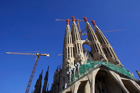 Intricacy「Construction of the Sagrada Familia cathedral. Barcelona, Catalunya, Spain. Cathedral designed by Antoni Gaudi.」:写真・画像(3)[壁紙.com]