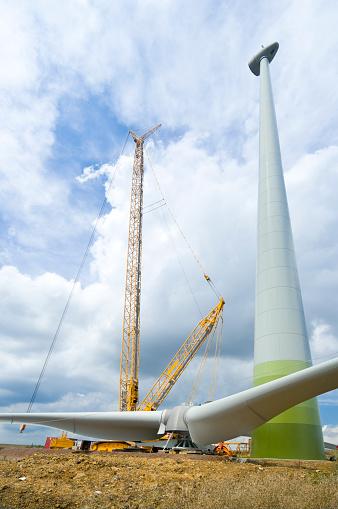 雲「構造の風力タービン」:スマホ壁紙(10)