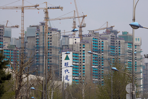 Finance and Economy「Construction, Olympic site, Seoul, South Korea」:写真・画像(16)[壁紙.com]