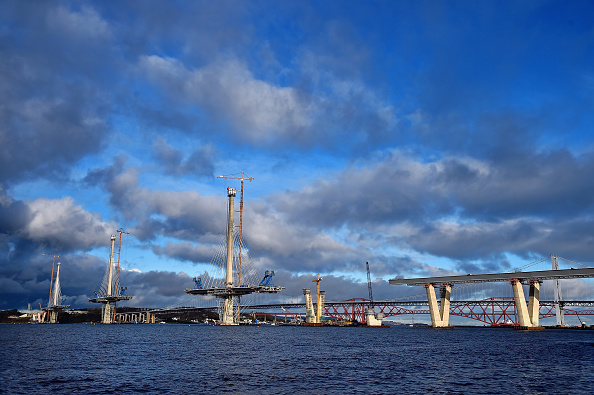 New「Construction Of The Queensferry Crossing Road Bridge」:写真・画像(14)[壁紙.com]