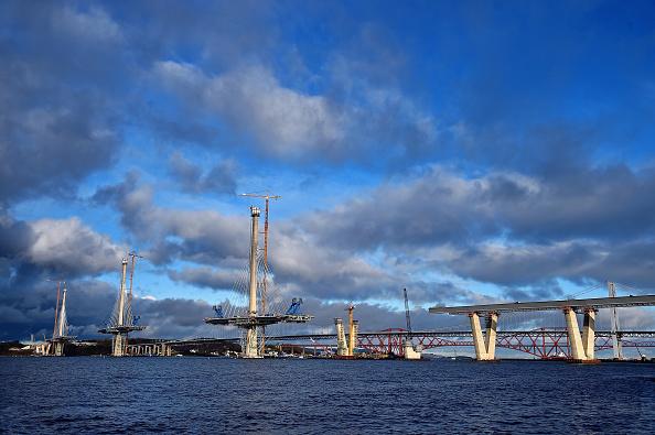 Finance and Economy「Construction Of The Queensferry Crossing Road Bridge」:写真・画像(13)[壁紙.com]