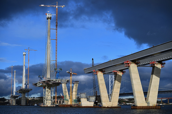New「Construction Of The Queensferry Crossing Road Bridge」:写真・画像(0)[壁紙.com]