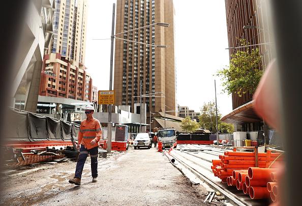 Transportation「Construction Continues On Sydney Light Rail」:写真・画像(9)[壁紙.com]
