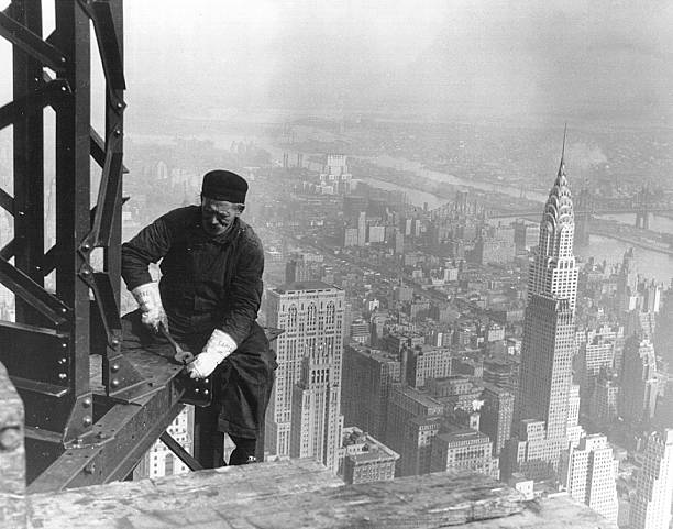Empire State Building Construction:ニュース(壁紙.com)
