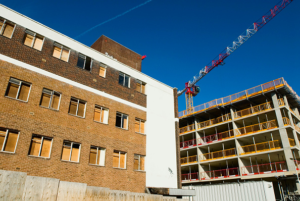 Clear Sky「Construction in Stratford, East London, UK」:写真・画像(15)[壁紙.com]