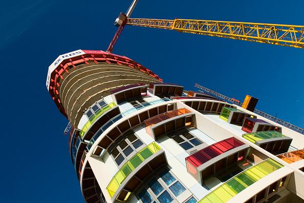 Clear Sky「Construction in Stratford, East London, UK」:写真・画像(18)[壁紙.com]
