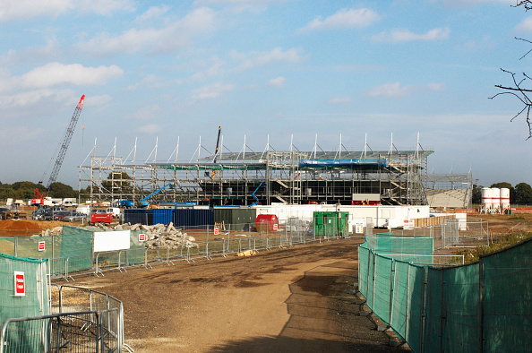 Finance and Economy「Construction of new Colchester United stadium at Cockoo Farm, Colchester, Essex, UK」:写真・画像(9)[壁紙.com]