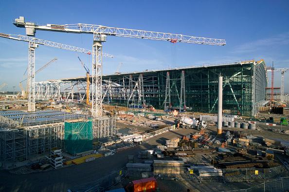 Finance and Economy「Construction of Terminal Five, Heathrow Airport, London, UK」:写真・画像(15)[壁紙.com]