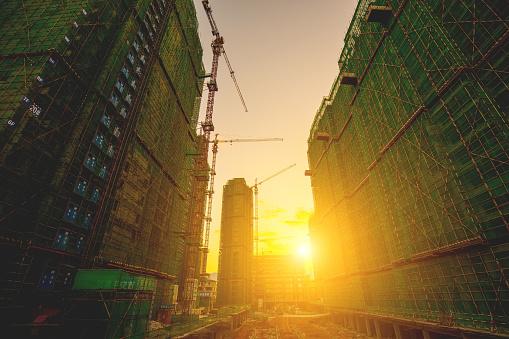Multiple Exposure「Construction site with sunlight」:スマホ壁紙(15)