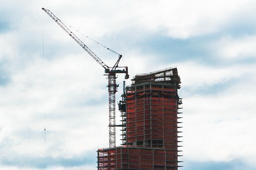Skyscraper「construction industry, cranes」:スマホ壁紙(14)