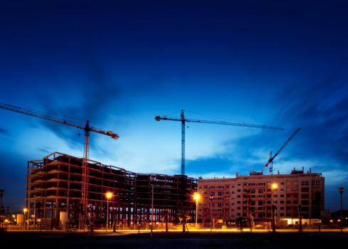 Crane - Construction Machinery「Construction Site」:スマホ壁紙(6)