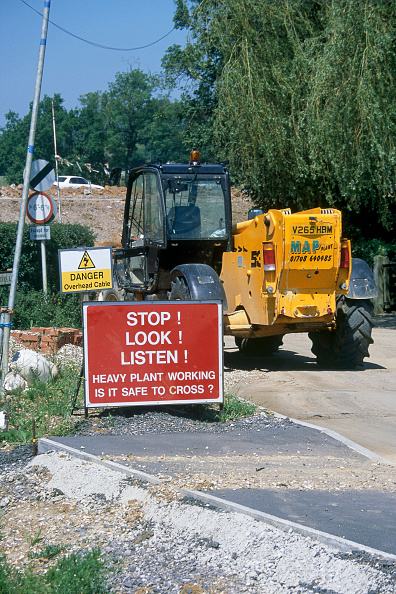 Footpath「Construction of Great Leighs bypass. Essex, United Kingdom.」:写真・画像(10)[壁紙.com]