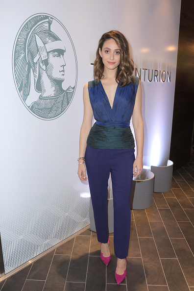 Emmy Rossum「American Express Celebrates The Opening Of The Centurion Lounge At Miami International Airport -  Day 1」:写真・画像(0)[壁紙.com]