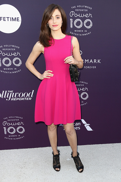 エミー・ロッサム「The Hollywood Reporter's 2017 Women In Entertainment Breakfast - Arrivals」:写真・画像(9)[壁紙.com]