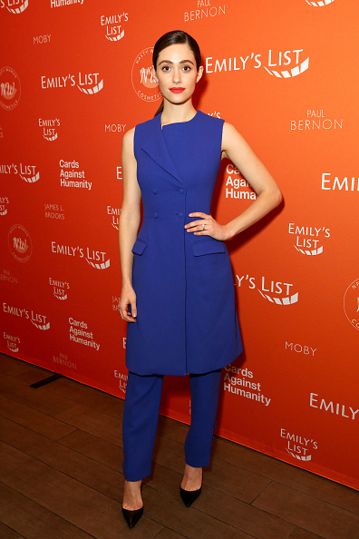 Emmy Rossum「EMILY's List's 'Resist, Run, Win' Pre-Oscars Brunch」:写真・画像(1)[壁紙.com]