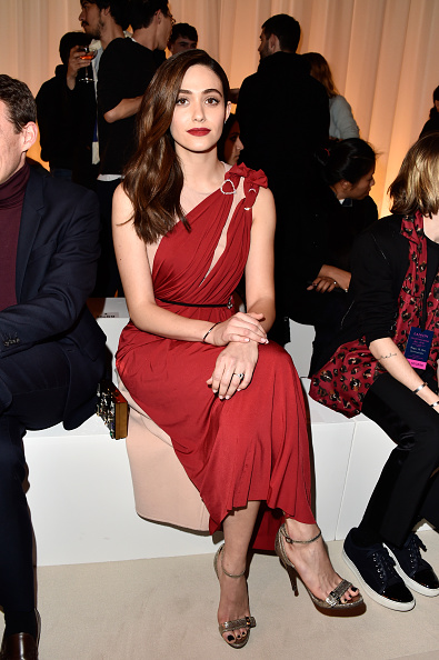 Emmy Rossum「Lanvin : Front Row  - Paris Fashion Week Womenswear Fall/Winter 2016/2017」:写真・画像(18)[壁紙.com]