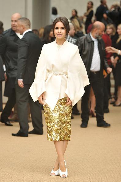 White Jacket「Burberry Prorsum - Arrivals: London Fashion Week SS14」:写真・画像(6)[壁紙.com]