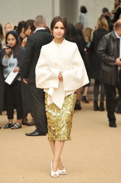 ロンドンファッションウィーク「Burberry Prorsum - Arrivals: London Fashion Week SS14」:写真・画像(13)[壁紙.com]