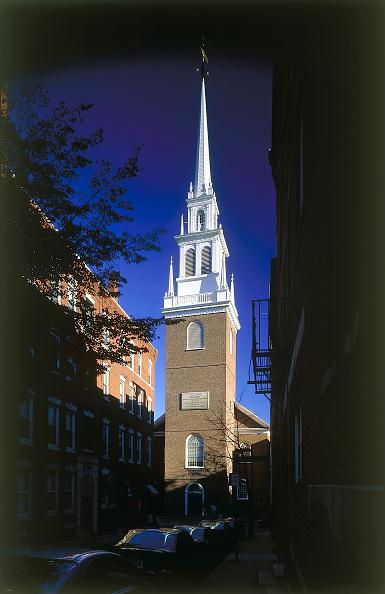 Brick Wall「Christchurch. Boston, Massachussetts, USA.」:写真・画像(18)[壁紙.com]