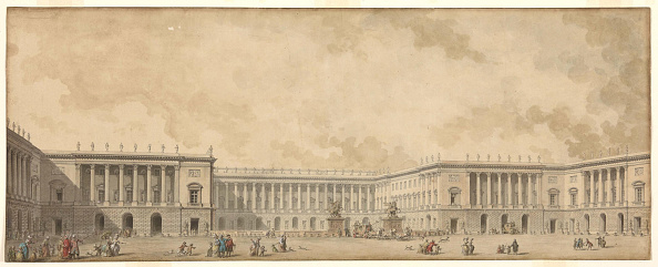Painted Image「First Reconstruction Project Of The Palace Of Versailles Presented To King Louis Xvi」:写真・画像(2)[壁紙.com]