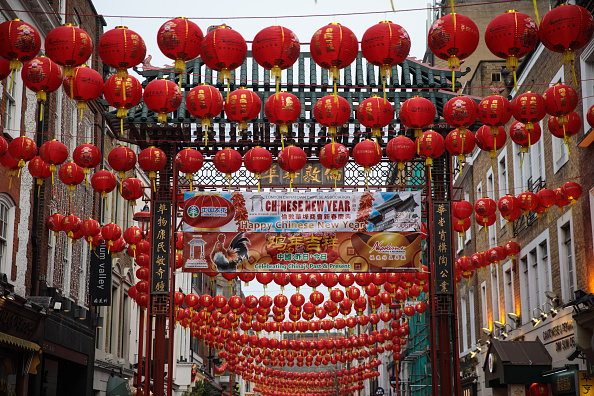 Chinese Lantern「London's Chinatown Prepares For New Year Celebrations」:写真・画像(12)[壁紙.com]