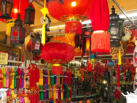 Chinese Lantern「Chinese lanterns, Chinatown, Singapore」:スマホ壁紙(17)