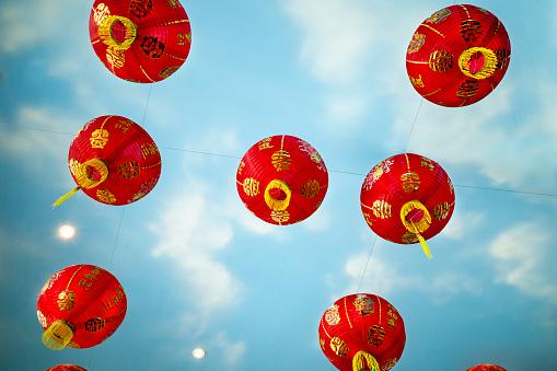Chinese Lantern「Chinese lanterns」:スマホ壁紙(1)